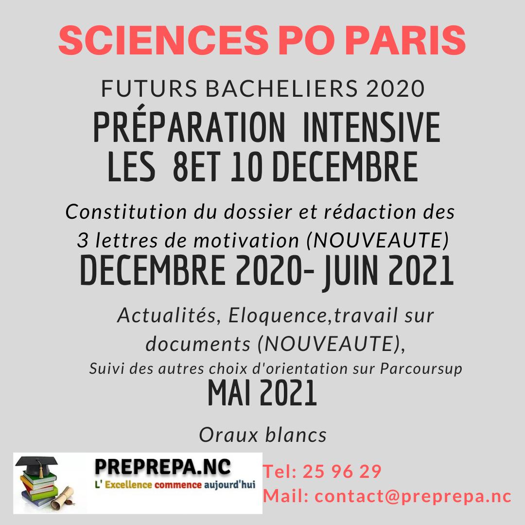 Prepa SC Po Paris